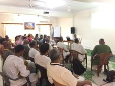 Bhagavata Vicara (2nd Canto) (English) for the residents of Mayapur started last week. 30 Students are participating in this Weekly Course. For more details please visit our website http://mayapurinstitute.org