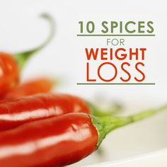 10 Spices for Weight Loss