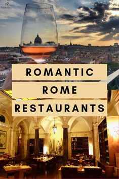 Looking for Romantic Restaurants in Rome? From cozy wine bars, to Rome restaurants with a view, to the best Michelin restaurants, you can't go wrong! Italy Travel Tips, Rome Travel, Travel Guide, Travel Destinations, Italy Honeymoon, Italy Vacation, Best Restaurants In Rome, Italy Restaurant, Romantic Italy