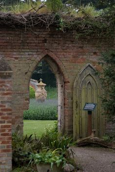 Doorway to the Walled Garden, Kentwell Hall | by RobRoyAus