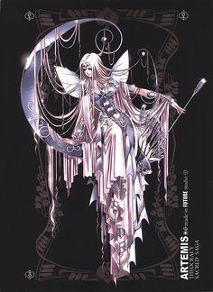 Artemis. Dioses del Olimpo. Sacred Saga. Saint Seiya Studio Future.