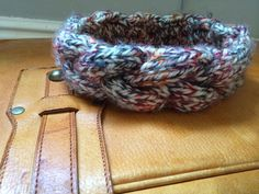 Colourful snuggly winter headband