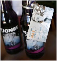 Jones Soda bottles for HS Seniors