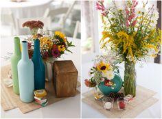 #sunflower #colourful #wedding #rustic