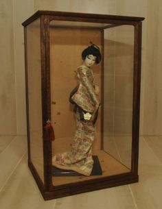 Mid Century Japanese Maiko Doll  Japan  Circa 1940s by DLDowns, $331.00