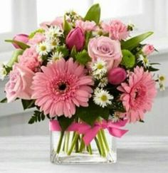 proudly presents the Better Homes and Gardens Blooming Visions Bouquet. Offer them a bouquet blooming with a Fresh Flowers, Spring Flowers, Beautiful Flowers, Flowers In A Vase, Romantic Flowers, Deco Floral, Arte Floral, Beautiful Flower Arrangements, Artificial Floral Arrangements