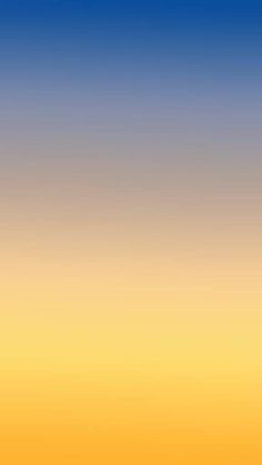 iPhone wallpaper ombre blue yellow