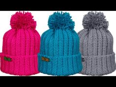 Crochet Beanie, Crochet Baby, Knitted Hats, Baby Knitting Patterns, Crochet Patterns, Crochet Winter, Barbie, Scrunchies, Beret