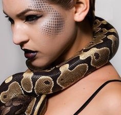 photo model with snake - Google Search