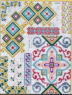 Geometric Cross Stitch