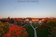 Gorgeous view of campus- Miami University #MiamiOH