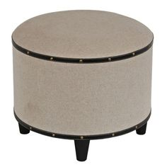 I pinned this Sandhill Ottoman from the privilege event at Joss & Main!