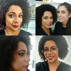 Mais uma tarde como modelo de maquiagem #pelenegra  #makeprofissional #make #maquiagem #modelando #modelonegra #semfiltro #nofilter #instapoa #divando