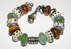 Dotty Delight-a great bracelet design from a long time collector and member of our Trollbeads Gallery Forum.  Join us!!  http://trollbeadsgalleryforum.ning.com/