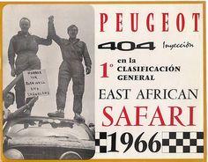 Peugeot 404 Sticker 1966