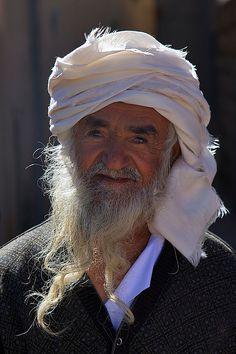 An old Omani man, Oman (2006)