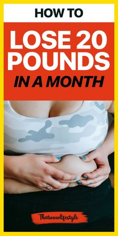 Want real strategies for weight loss today? Want to know how to lose 20 pounds safely in just one month? Check out these quick tips and simple diet ideas so you can lose your excess pounds with or without exercising. This article brings you the best weight loss tips for women to lose 20 pounds in a month or in 2 weeks, fast! #howtolose20pounds #loseweightips #loseweightinamonth Fast Weight Loss Diet, Best Weight Loss Foods, Weight Loss Secrets, Healthy Recipes For Weight Loss, Weight Loss Drinks, Weight Loss Plans, Easy Weight Loss, Weight Loss Journey, Lose Weight In A Month
