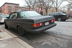 THE STREET PEEP: Murdered Merc - 1983 Mercedes-Benz W123 Coupe