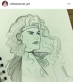 rogue by chloe carver | @ chloecarver_art on instagram
