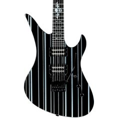 Schecter Guitar Research Synyster Custom Electric Guitar Black Black