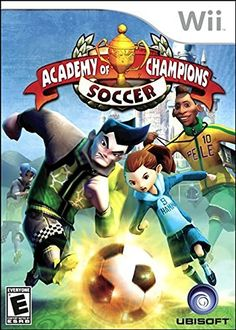 Academy Of Champions Soccer  Nintendo Wii >>> You can get more details by clicking on the image.Note:It is affiliate link to Amazon.