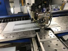 V and F Sheet Metal in Hampshire specialise in CNC Punching throughout the UK. Mild Steel Sheet, Steel Sheet Metal, Sheet Metal Work, Types Of Sheet Metal, Metal Working, Cnc, Sheet Metal Shop, Metalworking