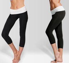 Comfy Fold Over Yoga Pants - Save 67% Just $16 - Available in four colors