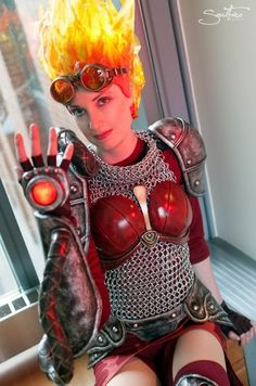 noaksey:  Chandra from Magic: the Gathering - Cosplay