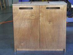 Plywood en-suite, custom made.