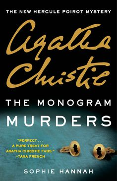 There's a new Poirot novel by best-selling crime author, Sophie Hannah. The caption says it's a treat for Agatha Christie fans so I will give it a go..