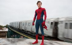 Download wallpapers Spider-Man Homecoming, 2017, Tom Holland, Spider-Man