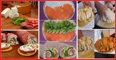 """Așteptați oaspeți și doriți să-i surprindeți cu aperitive delicioase pregătite cu drag? Vă prezentăm cele mai gustoase, apetisante și aspectuoase aperitive pentru masa de sărbătoare. Acestea se prepară destul de rapid, din ingrediente simple și accesibile. Aperitivele arată spectaculos și au succes la masa festivă. Puteți experimenta cu ingredientele și obține de fiecare dată o gustare nouă. Cu siguranță veți găsi rețetele preferate. 1. Rulouri """"Zborul fanteziei"""" – specialitatea casei… Fresh Rolls, Sushi, Party, Cooking Recipes, Mexican, Ethnic Recipes, Mai, Food, Kitchen"""