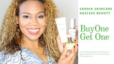 Sardia Skincare Holiday Special BOGO | Review & Demo | Daisi Jo Reviews #AD Buy One Get One, All In One, Ageless Beauty, Skincare, Makeup, Holiday, Youtube, Stuff To Buy, Make Up