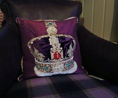 Designers Guild Jubilee Crown Cushion
