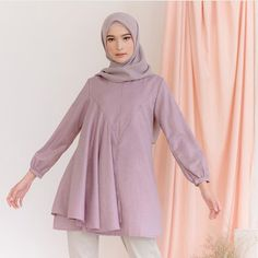 Muslim Fashion, Hijab Fashion, Fashion Outfits, Modest Outfits, Trendy Outfits, Love Fashion, Womens Fashion, Fashion Design, Hijab Style Tutorial
