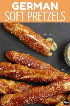 Whether it s game day or just a great time for a snack these pretzel sticks hit the spot Cooked to a golden brown and generously salted enjoy with a side of mustard or on their own MyRecipes Art Du Pain, Easy German Recipes, Austrian Recipes, Ma Baker, German Baking, German Bread, Oktoberfest Food, Homemade Soft Pretzels, Appetizer Recipes