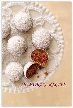 レンジで2分♡ココアスノーボールクッキー by ❤ももら❤ [クックパッド] 簡単おいしいみんなのレシピが250万品