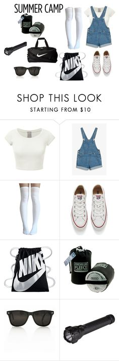"""""""summer camp"""" by coolkiidz ❤ liked on Polyvore featuring Monki, Converse, NIKE, 5.11 Tactical, summercamp and 60secondstyle"""