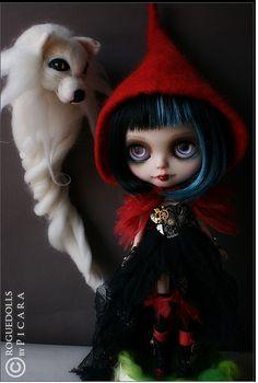 LRRH Steampunk OOAK custom Blythe japan doll by PICARA