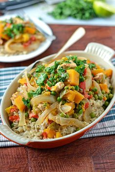 Slow-Cooker-Thai-Chicken-Healthy-and-flavorful-1 by Law Students Wife, via Flickr