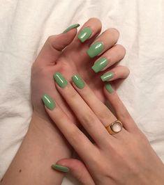 Aycrlic Nails, Oval Nails, Nail Manicure, Hair And Nails, Nail Polish, Simple Gel Nails, Nagellack Design, Nail Jewelry, Fire Nails
