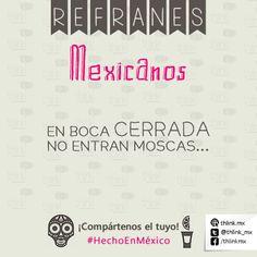 Refranes mexicanos.