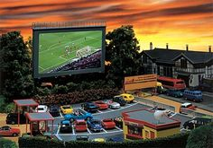 Faller Drive-In Cinema