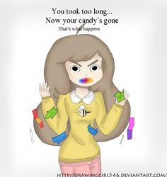 I swear they based Bee from Bee and Puppycat from me and Rebecca @Christina & Follings hahaha