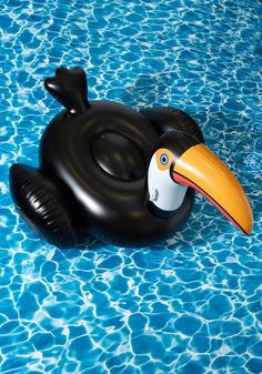 Flock on the Wild Side Pool Float in Toucan