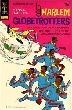 Globetrotters comic & also a T. Vintage Comic Books, Vintage Comics, Comic Books Art, Comic Art, Cartoon Books, Comic Book Characters, Old Comics, Archie Comics, Hanna Barbera
