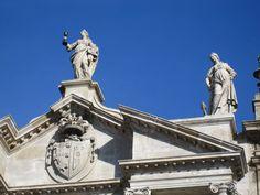 Faith and Charity Statue