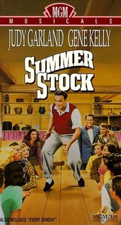 Summer Stock (1950) Gene Kelly, Judy Garland.....two of my favorite dance sequences ever are in this movie