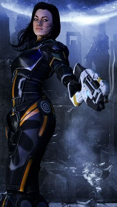 So bummed she can't be romanced by female Shepard! ~ Mass Effect - Miranda/Ice Cold by ~MrMassakka on deviantART