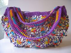 """Purple Poptop Bag"" by Pop Top Lady on sytes.org"